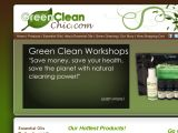 Browse Green Clean Chic