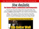 Browse The Guitar Wall Guide