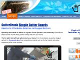Browse Gutterbrush Simple Gutter Guard