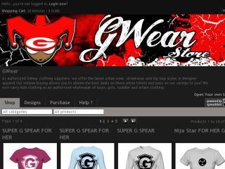 Shop at gwearstyle.spreadshirt.com