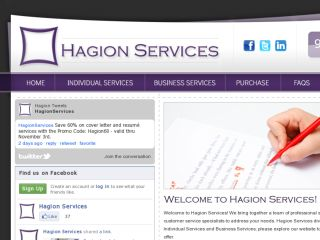Shop at hagionservices.com