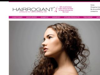 Shop at hairrogant.com