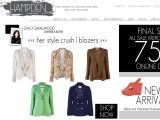 Browse Hampden Clothing