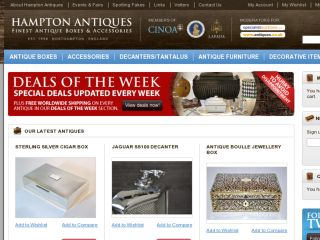 Shop at hamptonantiques.co.uk