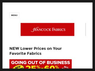 Shop at hancockfabrics.com