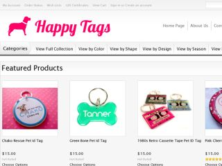 Shop at happy-tags.com
