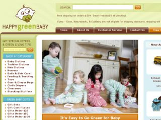 Shop at happygreenbaby.com