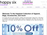 Happysix.com Coupon Codes