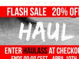 Haulapparel.com Coupons
