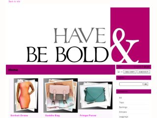 Shop at haveandbebold.com