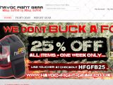 Havoc-Fight-Gear.com Coupons