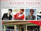Haydentaylor.com Coupons