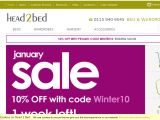 Head2bed.co.uk Coupons
