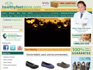 Shop at healthyfeetstore.com