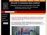 Browse Higginson Book