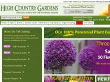 Browse High Country Gardens