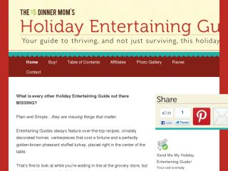 Shop at holidayentertainingguide.com