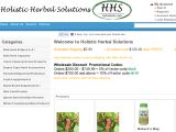 Browse Holistic Herbal Solutions