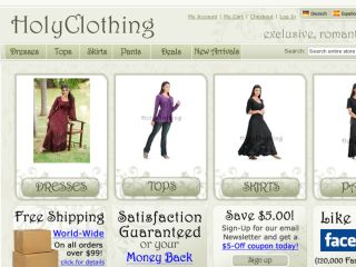 Shop at holyclothing.com
