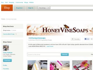 Shop at honeyvinesoaps.etsy.com