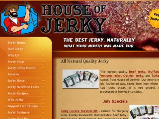 Shop at houseofjerky.net