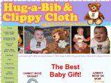 Browse Hug-A-Bib And Clippy Cloth