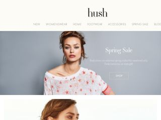 Shop at hush-uk.com