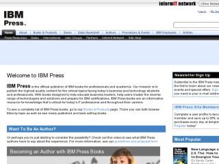 Shop at ibmpressbooks.com