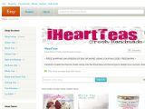 Iheartteas.etsy.com Coupons