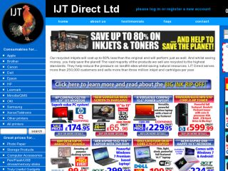Shop at ijtdirect.co.uk