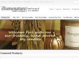 Browse Illumenature Candle Company