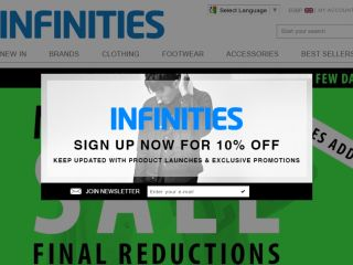 Shop at infinities.co.uk