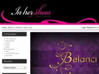Shop at inhershoesboutique.com.au