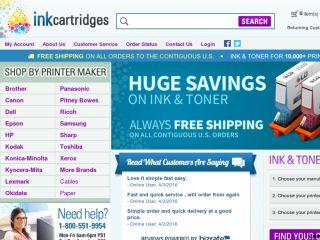 Shop at inkcartridges.com