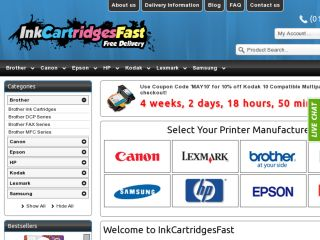 Shop at inkcartridgesfast.co.uk