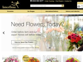 Shop at interflora.co.uk