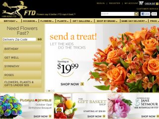 Shop at interflora.com