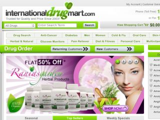Shop at internationaldrugmart.com