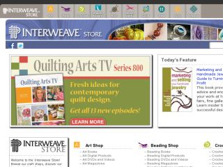 Shop at interweavestore.com