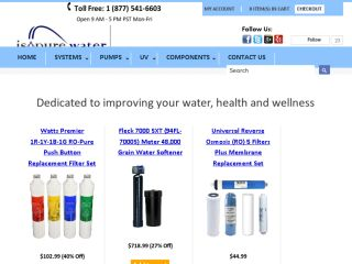 Shop at isopurewater.com