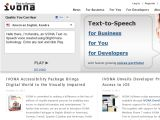 Browse Ivona Text-To-Speech