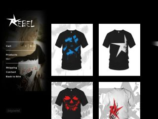 Shop at iwantrebel.bigcartel.com