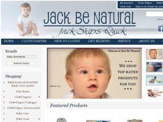 Shop at jackbenatural.com
