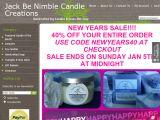 Jackbenimblecandles.com Coupons