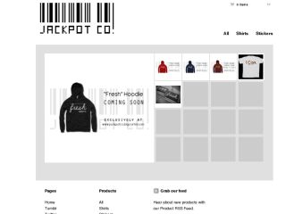 Shop at jackpotco.bigcartel.com