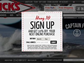 Shop at jackssurfboards.com