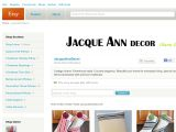 Jacqueanndecor.etsy.com Coupons