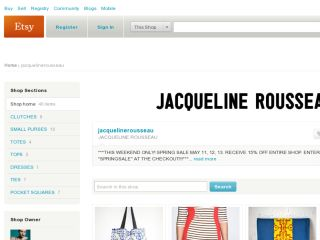 Shop at jacquelinerousseau.etsy.com