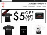 Jaredletomerch.com Coupon Codes