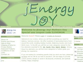 Shop at jenergyjoy.com